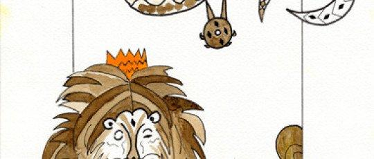 Le lion et le renard cordonnier