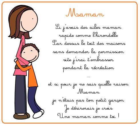 Maman 2 bonjour de sougueur - Poeme de noel pour maman et papa ...