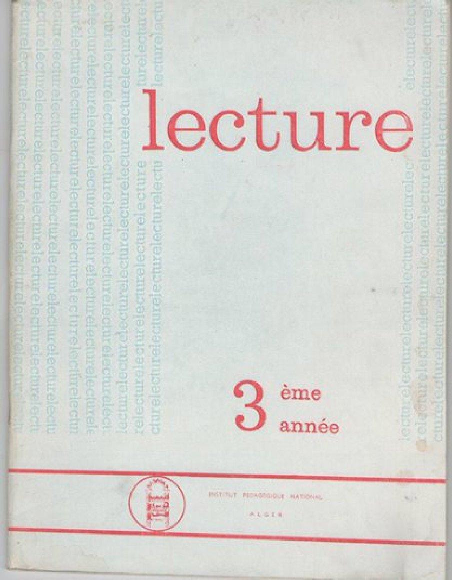 Livre De Lecture 3eme Annee D Enseignement Primaire Malik Et