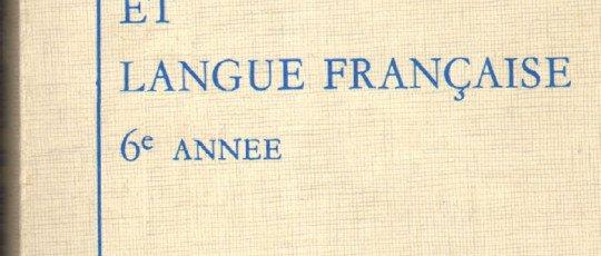 Lecture et langue Française 6ème année élémentaire