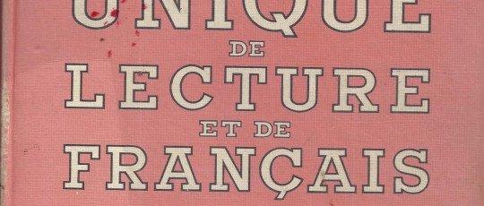 Livre unique de lecture de français