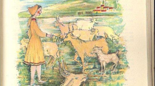Yasmina , la petite bergère d'après I. Erberhardt