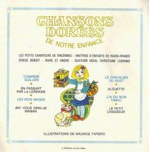Chansons dorées de notre enfance volume 5-0002