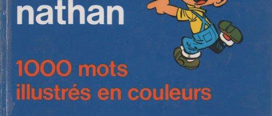 Dictionnaire actif nathan Mille mots illustrés en couleur