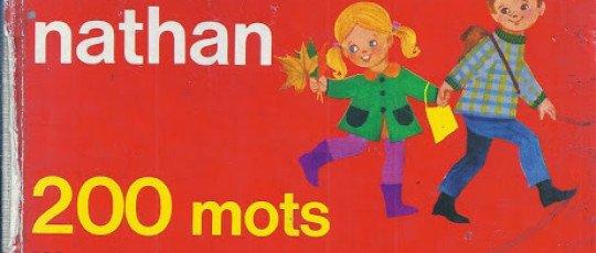 Mon premier dictionnaire Nathan 200 mots illustrés en couleurs